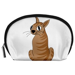 Brown Cat Accessory Pouches (large)