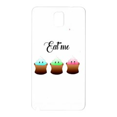 Eat Me Cupcakes Samsung Galaxy Note 3 N9005 Hardshell Back Case by Brittlevirginclothing