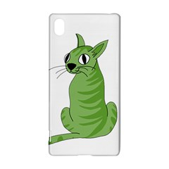 Green Cat Sony Xperia Z3+ by Valentinaart