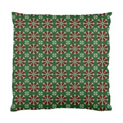 Xmas Jacquard Standard Cushion Case (two Sides) by olgart