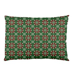 Xmas Jacquard Pillow Case (two Sides) by olgart