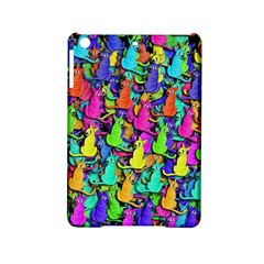 Colorful Cats Ipad Mini 2 Hardshell Cases by Valentinaart