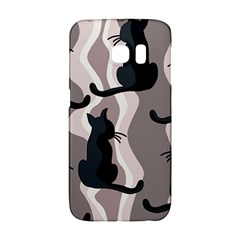 Elegant Cats Galaxy S6 Edge by Valentinaart