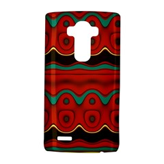 Orange Black And Blue Pattern Lg G4 Hardshell Case by theunrulyartist