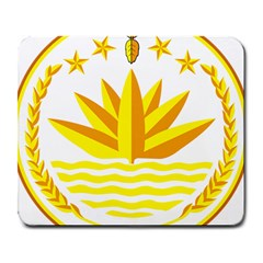 National Emblem Of Bangladesh Large Mousepads