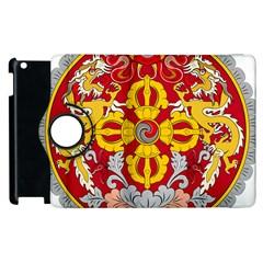 National Emblem Of Bhutan Apple Ipad 3/4 Flip 360 Case by abbeyz71