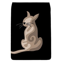 Brown Abstract Cat Flap Covers (s)  by Valentinaart