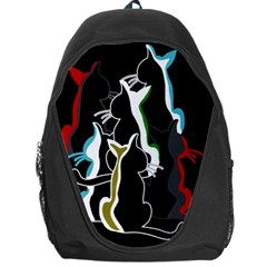Street Cats Backpack Bag by Valentinaart