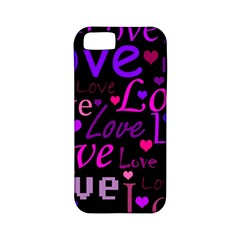 Love Pattern 2 Apple Iphone 5 Classic Hardshell Case (pc+silicone) by Valentinaart