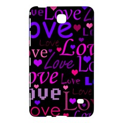 Love Pattern 2 Samsung Galaxy Tab 4 (8 ) Hardshell Case  by Valentinaart