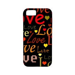 Love Pattern 3 Apple Iphone 5 Classic Hardshell Case (pc+silicone) by Valentinaart