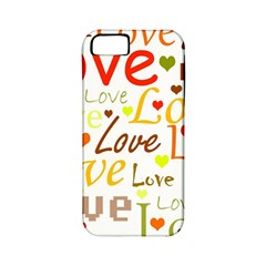 Valentine s Day Pattern Apple Iphone 5 Classic Hardshell Case (pc+silicone) by Valentinaart
