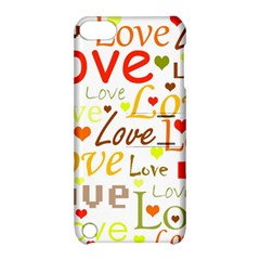Valentine s Day Pattern Apple Ipod Touch 5 Hardshell Case With Stand by Valentinaart