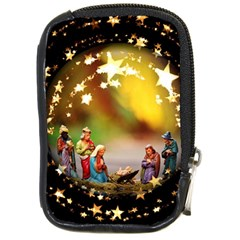 Christmas Crib Virgin Mary Joseph Jesus Christ Three Kings Baby Infant Jesus 4000 Compact Camera Cases by yoursparklingshop
