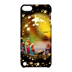 Christmas Crib Virgin Mary Joseph Jesus Christ Three Kings Baby Infant Jesus 4000 Apple Ipod Touch 5 Hardshell Case With Stand by yoursparklingshop