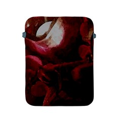 Dark Red Candlelight Candles Apple Ipad 2/3/4 Protective Soft Cases by yoursparklingshop