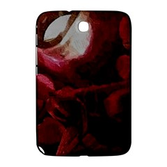Dark Red Candlelight Candles Samsung Galaxy Note 8 0 N5100 Hardshell Case  by yoursparklingshop