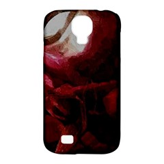 Dark Red Candlelight Candles Samsung Galaxy S4 Classic Hardshell Case (pc+silicone)