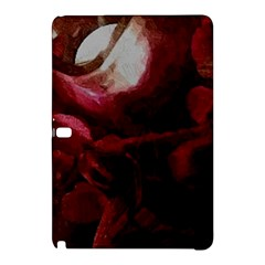Dark Red Candlelight Candles Samsung Galaxy Tab Pro 12 2 Hardshell Case by yoursparklingshop