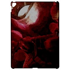 Dark Red Candlelight Candles Apple iPad Pro 12.9   Hardshell Case by yoursparklingshop