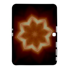 Christmas Flower Star Light Kaleidoscopic Design Samsung Galaxy Tab 4 (10 1 ) Hardshell Case  by yoursparklingshop