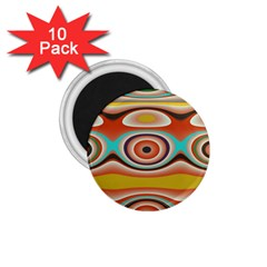 Oval Circle Patterns 1 75  Magnets (10 Pack)  by digitaldivadesigns