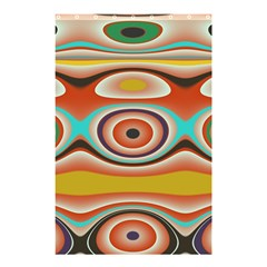 Oval Circle Patterns Shower Curtain 48  X 72  (small)  by theunrulyartist