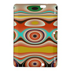 Oval Circle Patterns Kindle Fire Hdx 8 9  Hardshell Case by theunrulyartist
