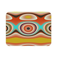 Oval Circle Patterns Double Sided Flano Blanket (mini)  by theunrulyartist