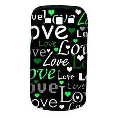 Green Valentine s Day Pattern Samsung Galaxy S Iii Classic Hardshell Case (pc+silicone) by Valentinaart