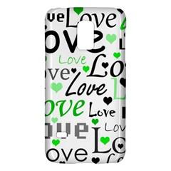 Green  Valentine s Day Pattern Galaxy S5 Mini by Valentinaart