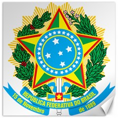 Coat Of Arms Of Brazil Canvas 20  X 20   by abbeyz71