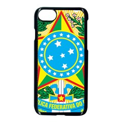 Coat of Arms of Brazil, 1968-1971 Apple iPhone 7 Seamless Case (Black) by abbeyz71