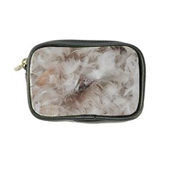 Down Comforter Feathers Goose Duck Feather Photography Coin Purse by yoursparklingshop