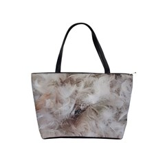 Down Comforter Feathers Goose Duck Feather Photography Shoulder Handbags by yoursparklingshop