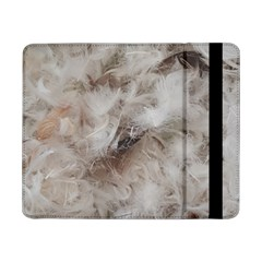 Down Comforter Feathers Goose Duck Feather Photography Samsung Galaxy Tab Pro 8.4  Flip Case by yoursparklingshop
