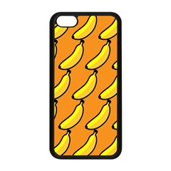 Banana Orange Apple Iphone 5c Seamless Case (black) by AnjaniArt