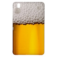Beer Foam Yellow Samsung Galaxy Tab Pro 8 4 Hardshell Case by AnjaniArt