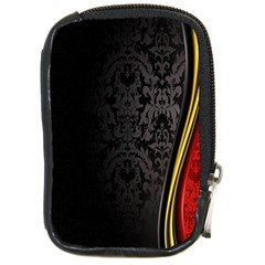 Black Red Yellow Compact Camera Cases by AnjaniArt