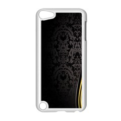 Black Red Yellow Apple Ipod Touch 5 Case (white) by AnjaniArt