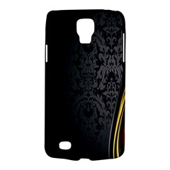 Black Red Yellow Galaxy S4 Active by AnjaniArt
