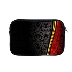 Black Red Yellow Apple Macbook Pro 13  Zipper Case by AnjaniArt