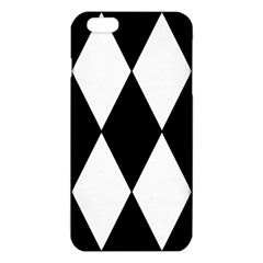 Chevron Black Copy Iphone 6 Plus/6s Plus Tpu Case by AnjaniArt