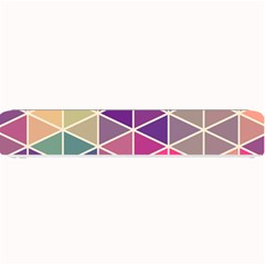Chevron Colorful Small Bar Mats by AnjaniArt