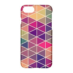 Chevron Colorful Apple iPhone 7 Hardshell Case by AnjaniArt