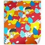Bear Umbrella Canvas 20  x 24