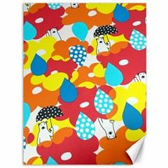 Bear Umbrella Canvas 36  x 48