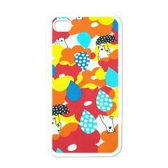 Bear Umbrella Apple iPhone 4 Case (White)