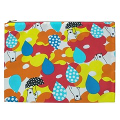 Bear Umbrella Cosmetic Bag (xxl)