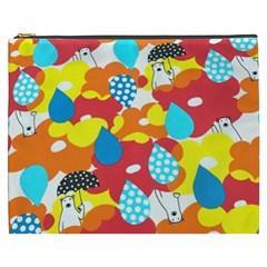 Bear Umbrella Cosmetic Bag (xxxl)